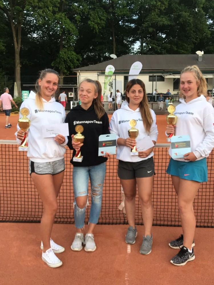 MEDL CUP 2018, Mülheim an der Ruhr, Germany: Svetlana Iansitova, Arevik Tumanyan, Darya Osadova und Palina Mannapova
