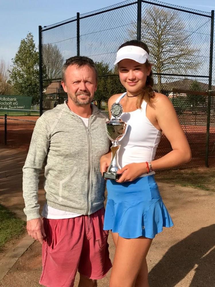 Kamilla Bartone, Ostermann Cup 2018, Bocholt. Winner!
