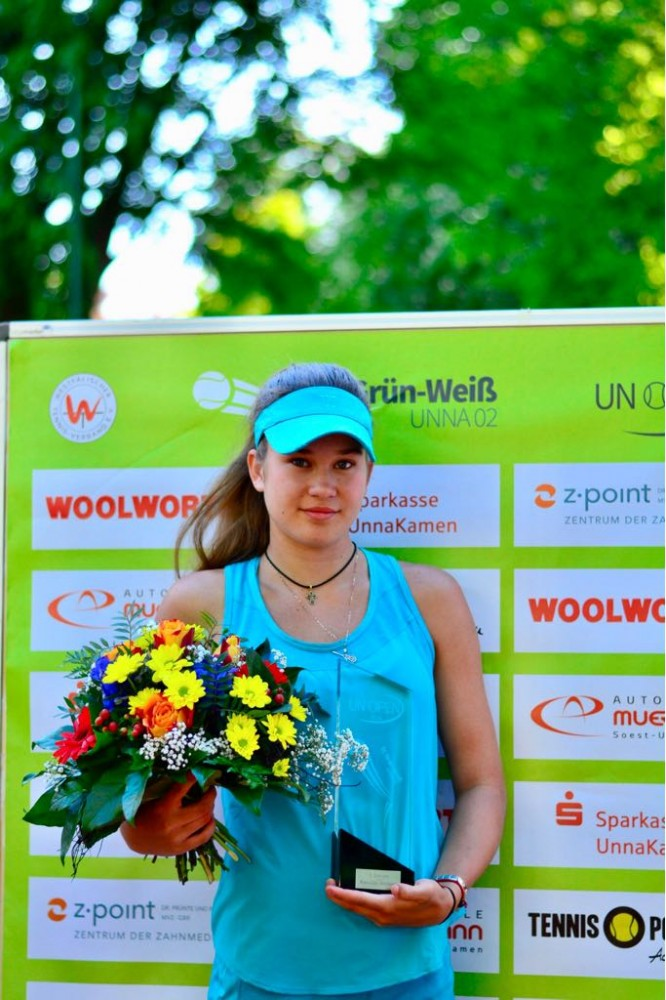 3. Unna Open 2018: Kamilla Bartone - the winner!