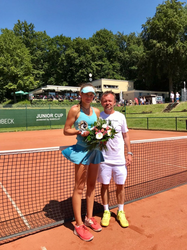 Kamilla Bartone, VAN DER VALK HOTEL GLADBECK Junior Cup powered by BABOLAT