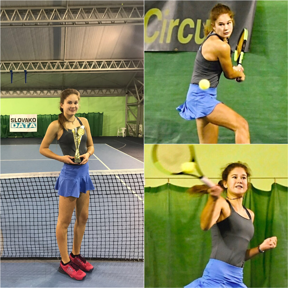 Kamilla Bartone - The 25th Slovak Junior Indoor U18 2018