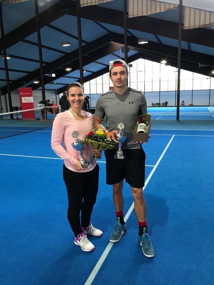 38. Münsteraner Stadtmeisterschaften um den Sparkassencup - Polina Bakhmutkina and Alexander Mannapov