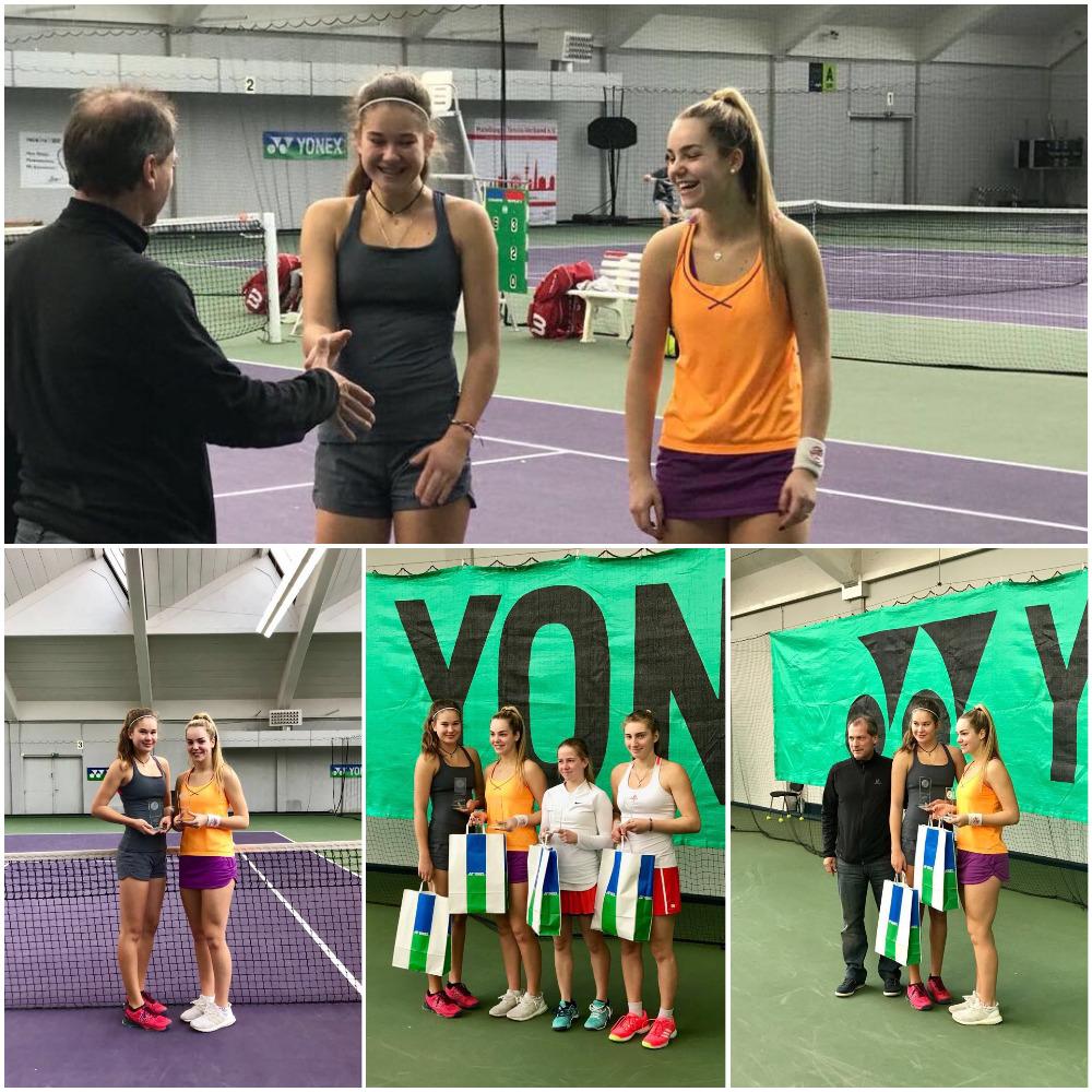 Kamilla Bartone - 1st place doubles - ITF YONEX HAMBURG